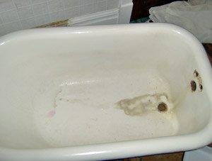 Clawfoot Tub Repair Amp Refinishing Hard Tops Of Wichita