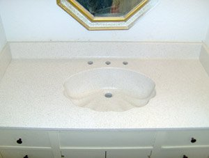 Vanity Top Repair & Refinishing